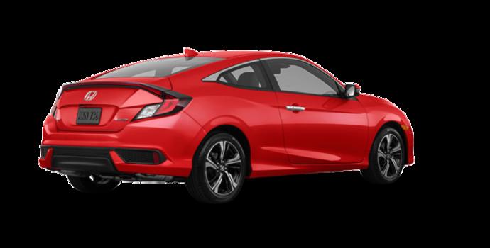 2016 Honda Civic Coupe TOURING | Photo 5 | Rallye Red