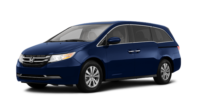 2016 Honda Odyssey EX-L Navi | Photo 6 | Obsidian Blue Pearl