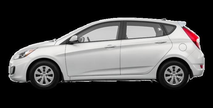 2016 Hyundai Accent 5 Doors L | Photo 4 | Century White