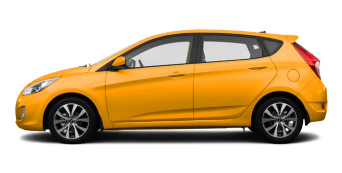 2016 Hyundai Accent 5 Doors SE | Photo 4 | Sunflower Yellow