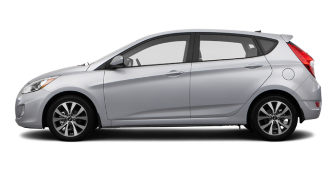 2016 Hyundai Accent 5 Doors SE | Photo 4 | Ironman Silver