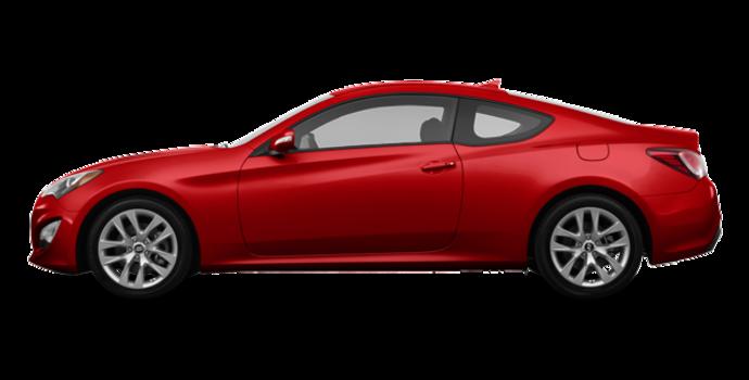 2016 Hyundai Genesis Coupe 3.8 Premium | Photo 4 | Tsukuba Red