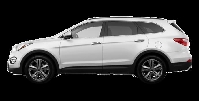 2016 Hyundai Santa Fe XL LIMITED | Photo 4 | Monaco White