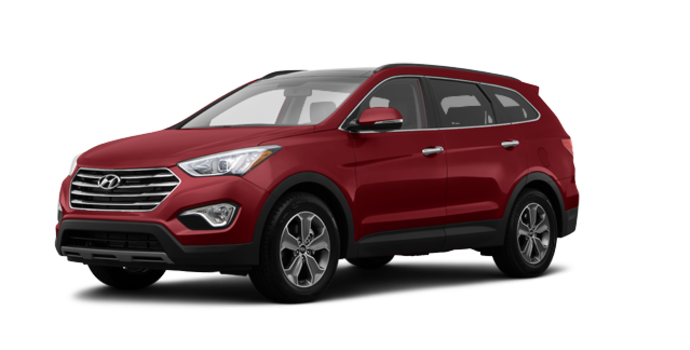 2016 Hyundai Santa Fe XL LUXURY | Photo 6 | Regal Red Pearl
