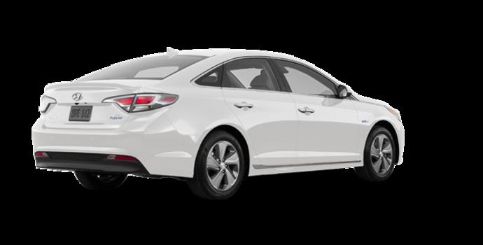 2016 Hyundai Sonata Plug-in Hybrid ULTIMATE   Photo 5   Ice White