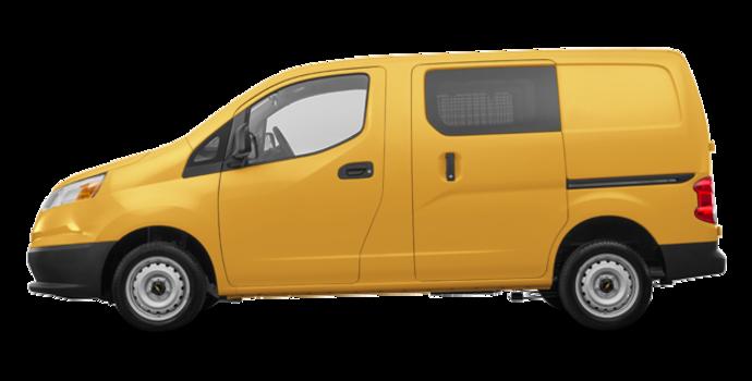 2017 Chevrolet City Express 1LT | Photo 4 | Sunglow Yellow