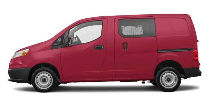 2017 Chevrolet City Express 1LT | Photo 4 | Furnace Red