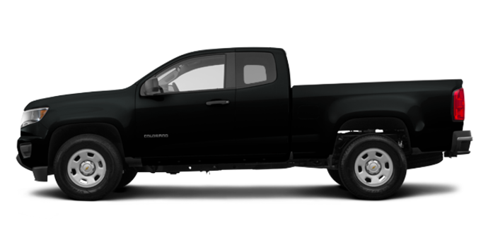 2017 Chevrolet Colorado WT | Photo 4 | Black