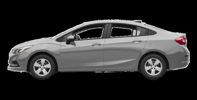 2017 Chevrolet Cruze LS   Photo 4   Silver Ice Metallic