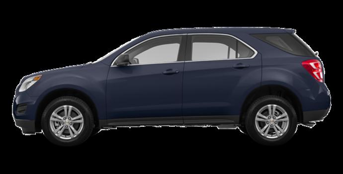 2017 Chevrolet Equinox LS   Photo 4   Blue Velvet Metallic