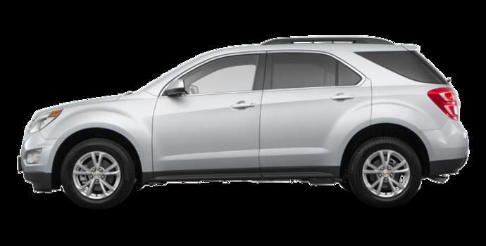 2017 Chevrolet Equinox LT   Photo 4   Silver Ice Metallic