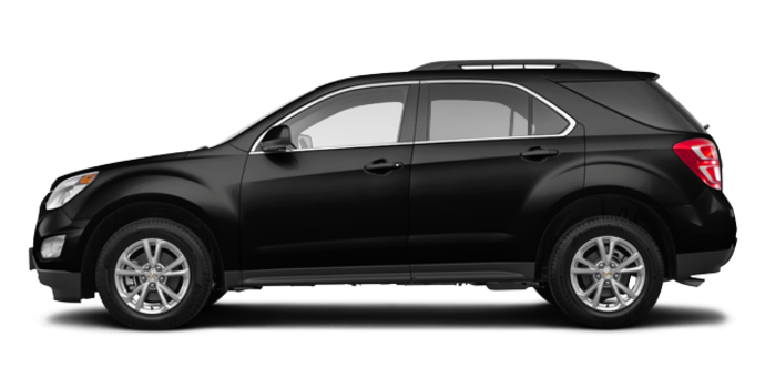 2017 Chevrolet Equinox LT   Photo 4   Mosaic Black Metallic
