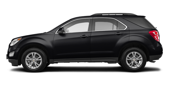 2017 Chevrolet Equinox LT   Photo 4   Black