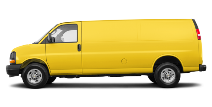 2017 Chevrolet Express 2500 CARGO | Photo 4 | Wheatland Yellow