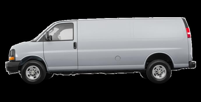 2017 Chevrolet Express 2500 CARGO | Photo 4 | Silver Ice Metallic