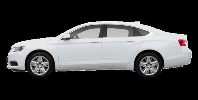 2017 Chevrolet Impala LS | Photo 4 | Summit White
