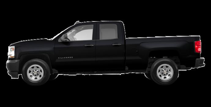 2017 Chevrolet Silverado 1500 WT | Photo 4 | Black