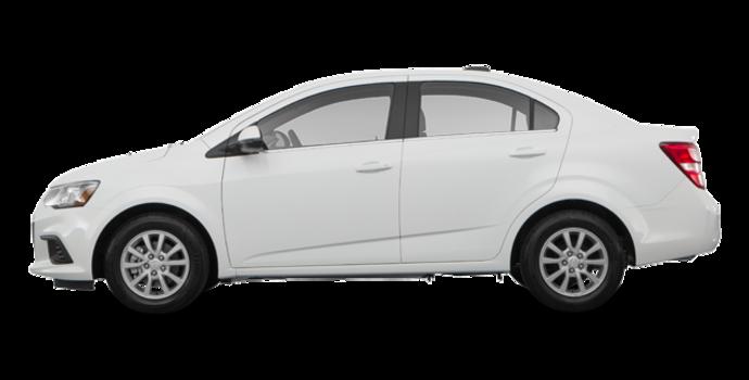 2017 Chevrolet Sonic LT | Photo 4 | Summit White