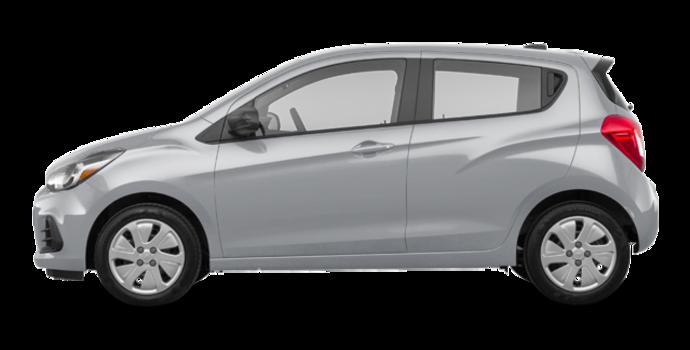 2017 Chevrolet Spark LS | Photo 4 | Silver Ice Metallic