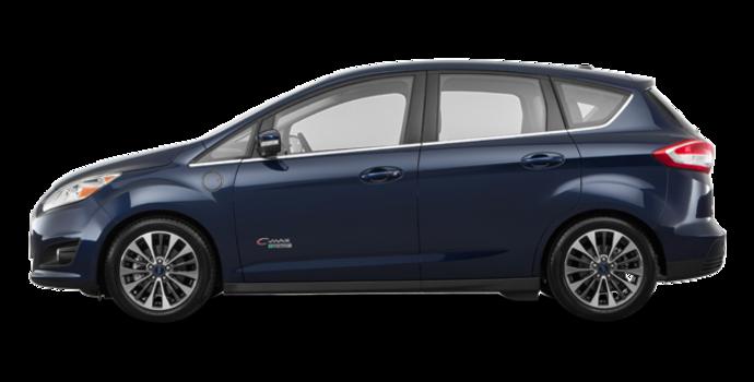 2017 Ford C-MAX ENERGI TITANIUM | Photo 4 | Kona Blue