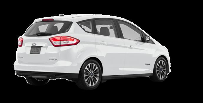 2017 Ford C-MAX HYBRID TITANIUM | Photo 5 | White Platinum