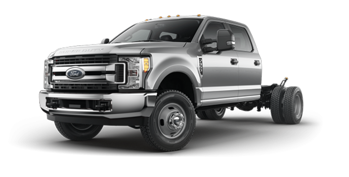 2017 Ford Chassis Cab F-350 XLT | Photo 4 | Ingot Silver