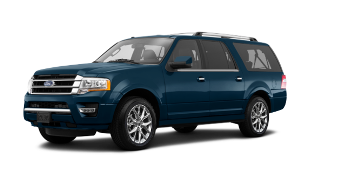 2017 Ford Expedition LIMITED MAX   Photo 6   Blue Jeans Metallic