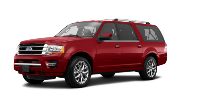 2017 Ford Expedition LIMITED MAX   Photo 6   Ruby Red Metallic