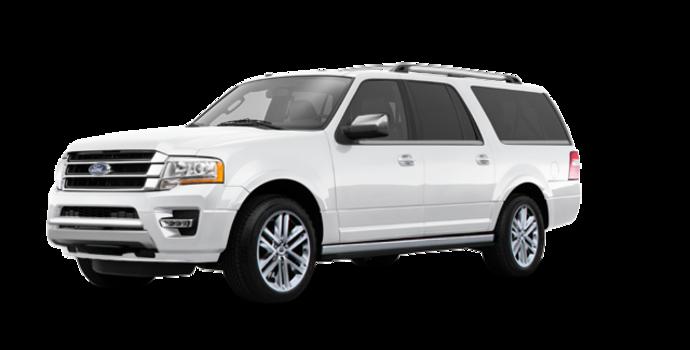 2017 Ford Expedition PLATINUM MAX   Photo 6   White Platinum Metallic