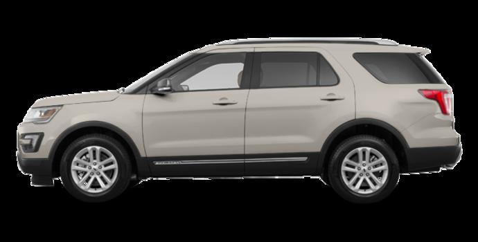 2017 Ford Explorer XLT | Photo 4 | White Gold