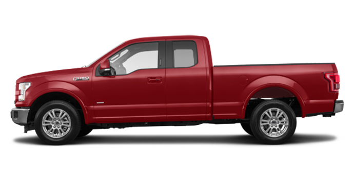 2017 Ford F-150 LARIAT | Photo 4 | Ruby Red Metallic