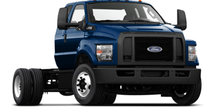 2017 Ford F-650 SD Gas Pro Loader | Photo 4 | Blue Jeans Metallic