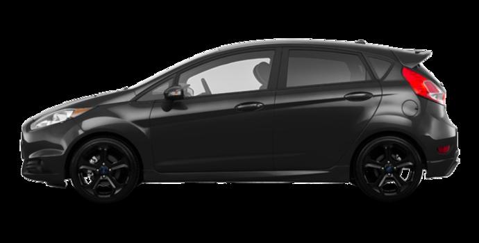 2017 Ford Fiesta Hatchback ST   Photo 4   Shadow Black