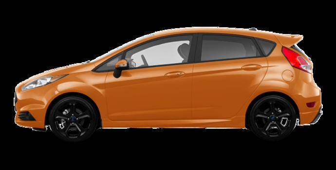 2017 Ford Fiesta Hatchback ST   Photo 4   Orange Spice