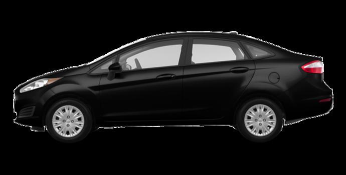 2017 Ford Fiesta Sedan S   Photo 4   Shadow Black