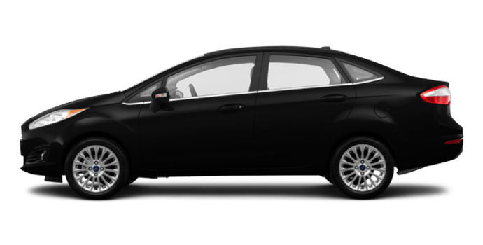 2017 Ford Fiesta Sedan TITANIUM | Photo 4 | Shadow Black
