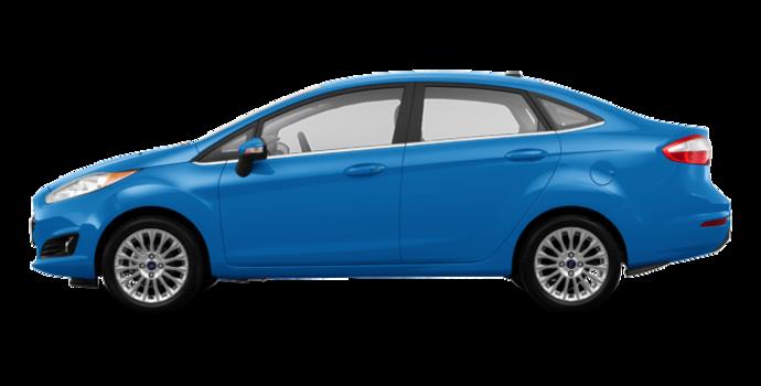 2017 Ford Fiesta Sedan TITANIUM | Photo 4 | Blue Candy