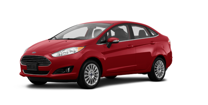 2017 Ford Fiesta Sedan TITANIUM | Photo 6 | Ruby Red