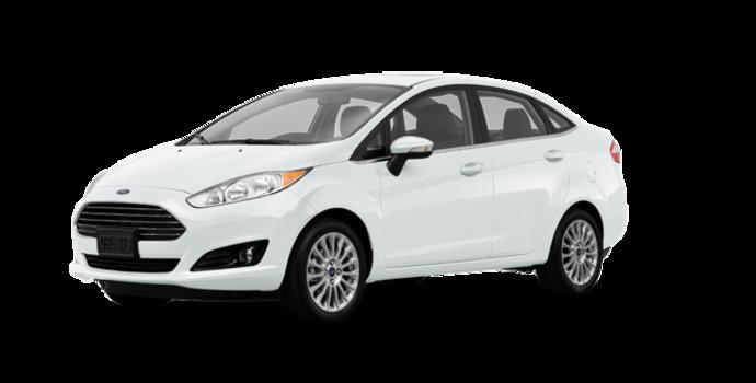 2017 Ford Fiesta Sedan TITANIUM | Photo 6 | White Platinum