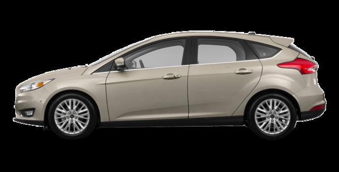 2017 Ford Focus Hatchback TITANIUM | Photo 4 | White Gold