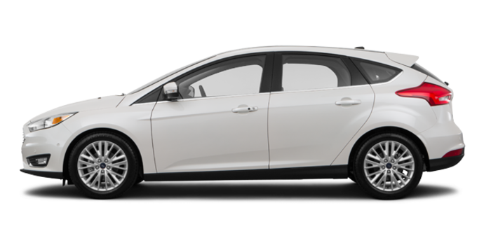 2017 Ford Focus Hatchback TITANIUM | Photo 4 | Oxford White