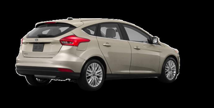 2017 Ford Focus Hatchback TITANIUM | Photo 5 | White Gold