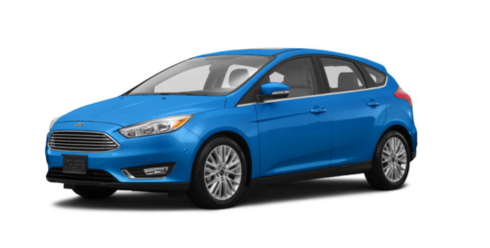 2017 Ford Focus Hatchback TITANIUM | Photo 6 | Blue Candy