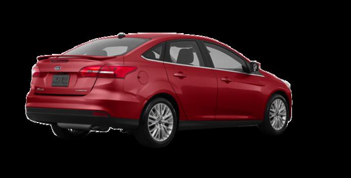 2017 Ford Focus Sedan TITANIUM | Photo 5 | Ruby Red Metallic