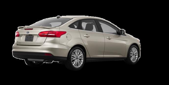 2017 Ford Focus Sedan TITANIUM | Photo 5 | White Gold