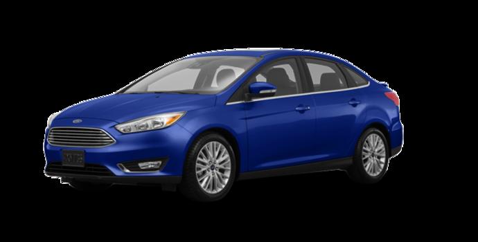 2017 Ford Focus Sedan TITANIUM | Photo 6 | Kona Blue Metallic