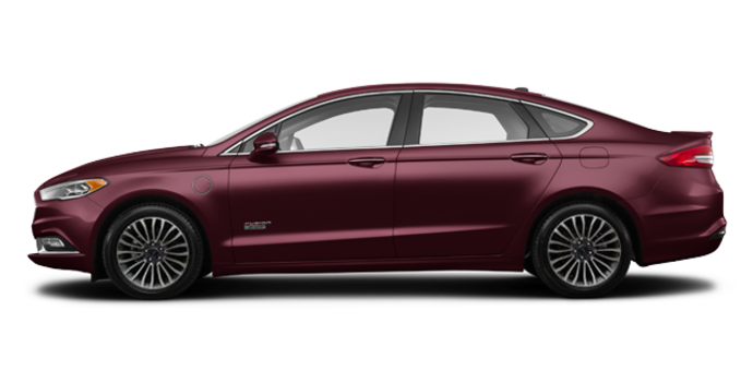2017 Ford Fusion Energi PLATINUM | Photo 4 | Burgandy Velvet
