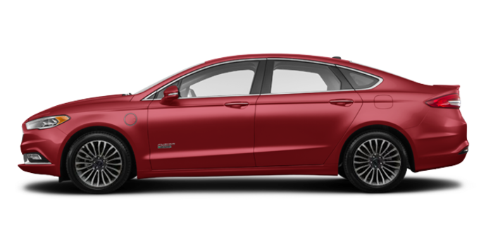 2017 Ford Fusion Energi PLATINUM | Photo 4 | Ruby Red