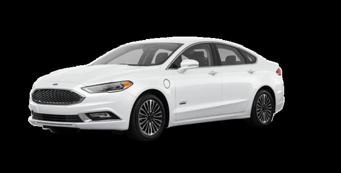 2017 Ford Fusion Energi PLATINUM | Photo 6 | White Platinum