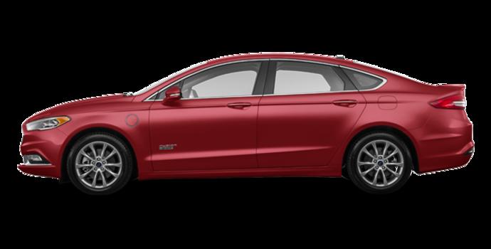 2017 Ford Fusion Energi TITANIUM | Photo 4 | Ruby Red